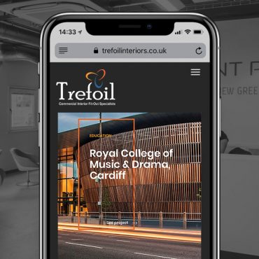 Trefoil launches <br>new website
